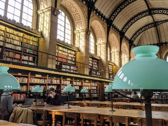 Library in France