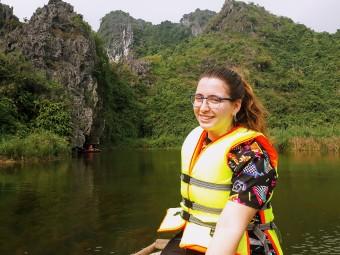 Image of student writer in Vietnam