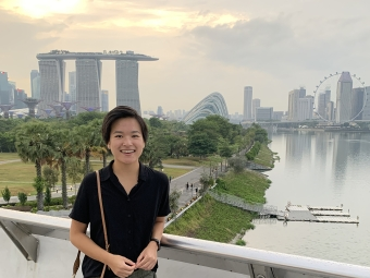 Image of student in Singapore