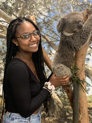 Danielle abroad in Australia