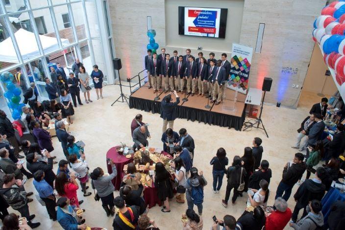 Penn Graduation Reception for International Students view