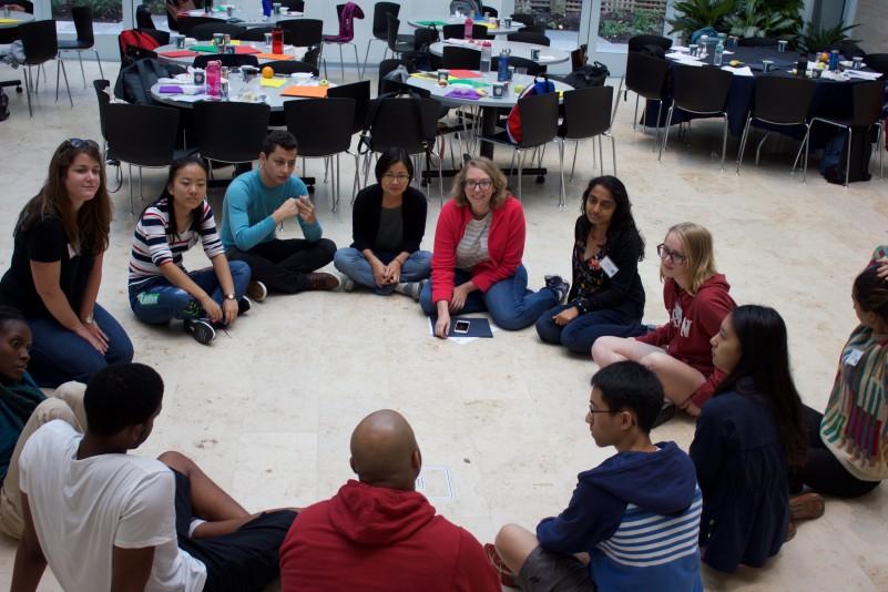 Image of Intercultural Leadership Program participants