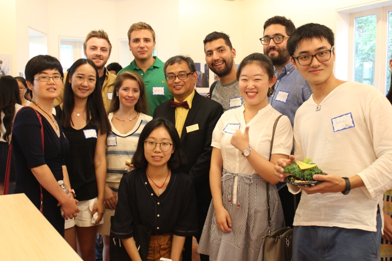 Image of 2017 International Student  Social Hour