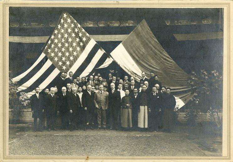 PENN ALUMNI CLUB OF NORTH CHINA AT PEKING, 1921