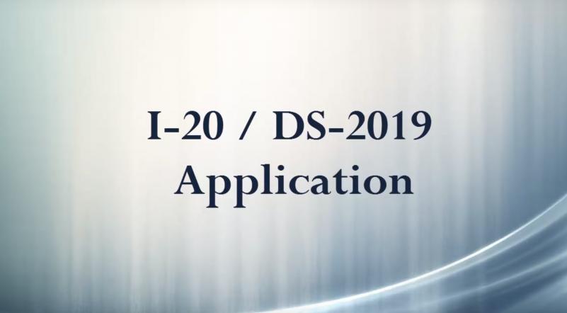 I-20/DS-2019 Application | ISSS
