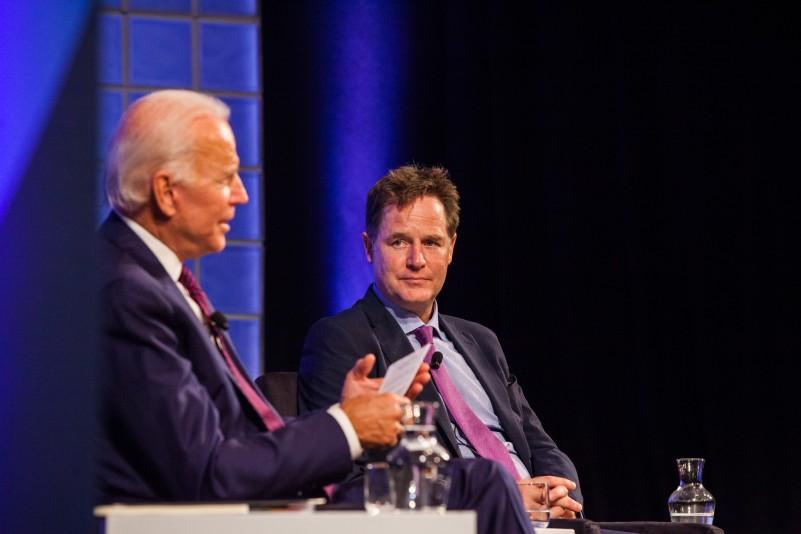 Former deputy minister of the United Kingdom and 47th Vice President Joe Biden