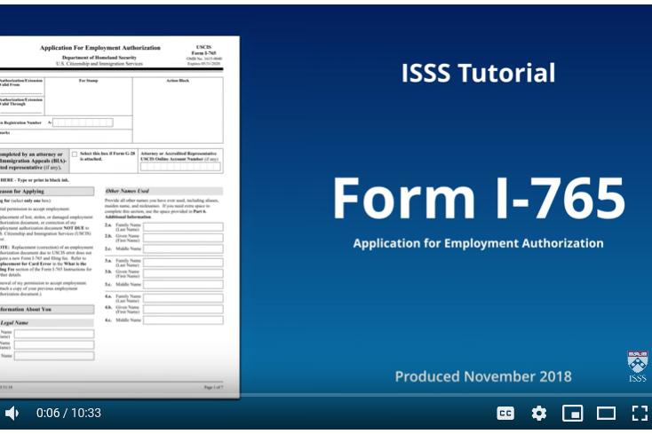 f 1 opt uscis application isss
