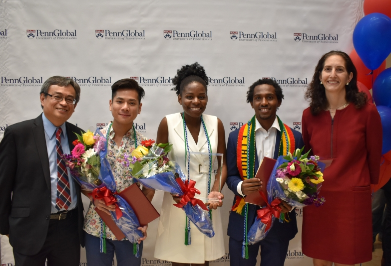 Winner & Honorable Mentions of the Undergraduate Penn Global Award 2019