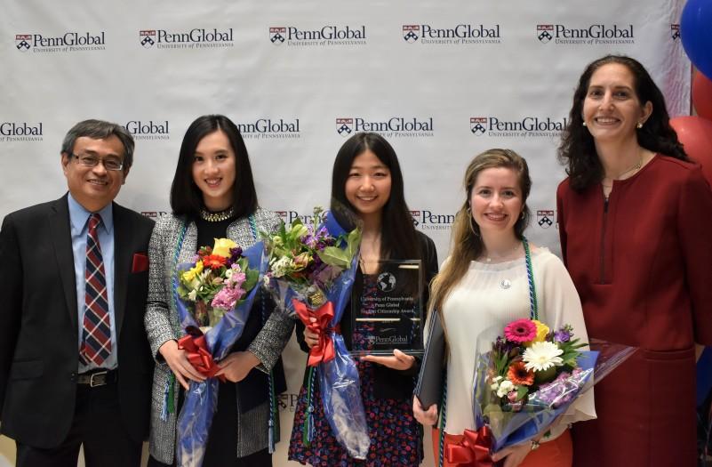 2019 Winner & Honorable Mentions Graduate Penn Global Student Citizenship Award