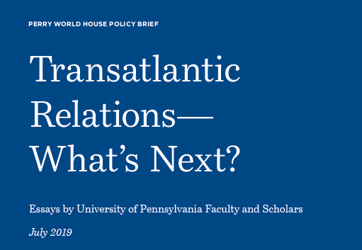 Transatlantic Relations - What's Next? Report cover