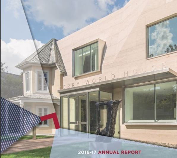 PWH annual report cover 2016-17