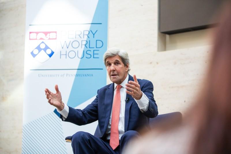 John Kerry at Fall 2019 Colloquium