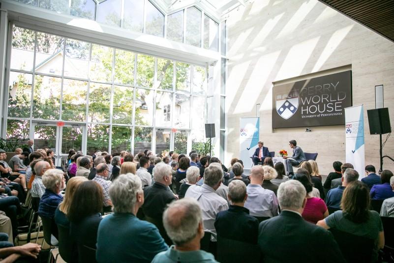 Audience at fall 2019 colloquium