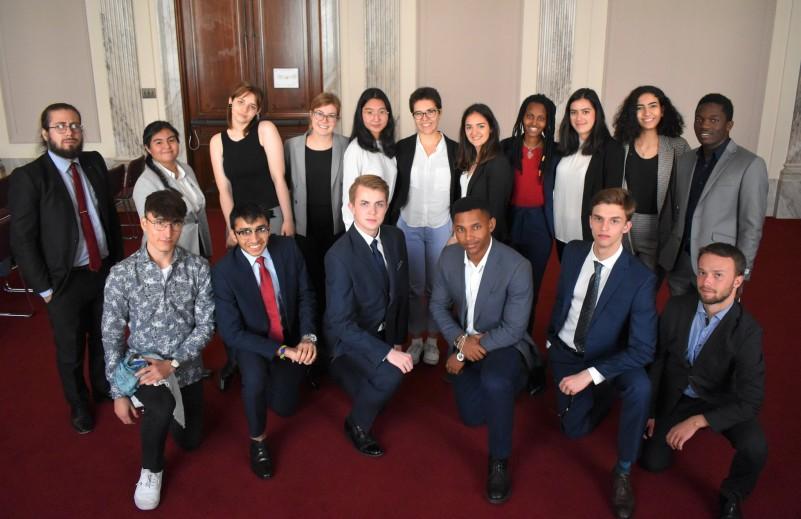 Penn World Scholars on Capitol Hill, October 11, 2019