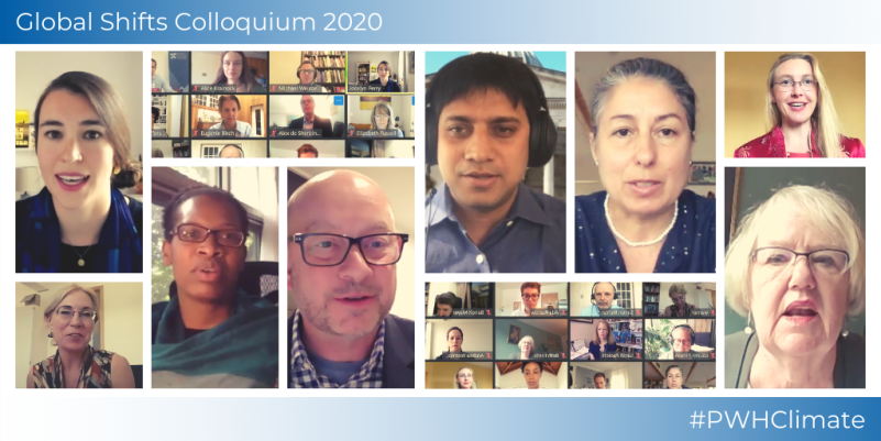Expert discussions at the 2020 Global Shifts Colloquium