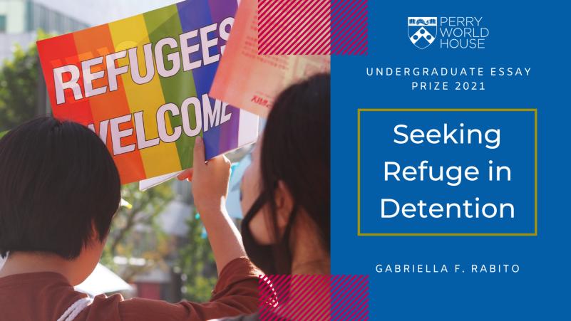 Image for the essay 'Seeking Refuge in Detention'