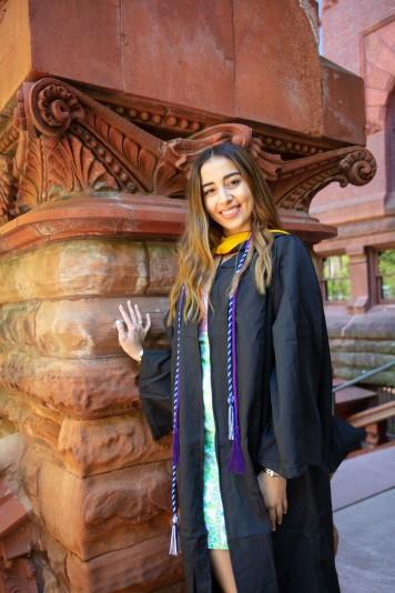 Graduation Photo of Derya Yavuz