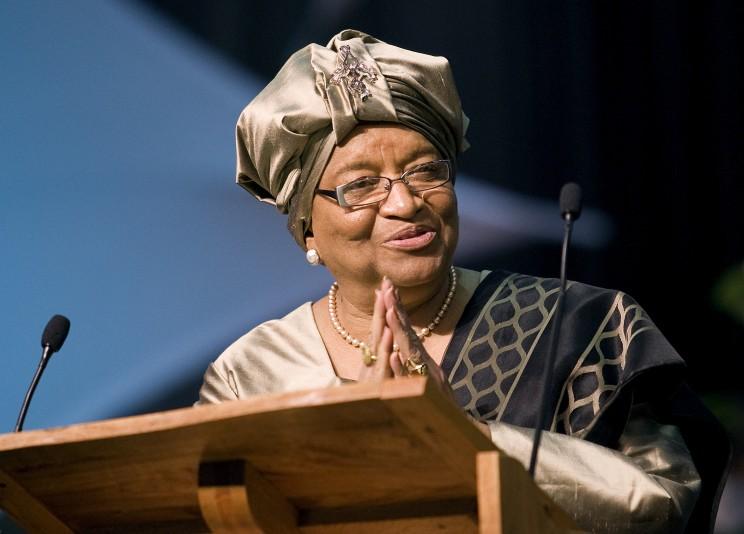 Ellen Johnson Sirleaf headshot
